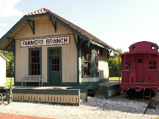 Farmers Branch Train Station